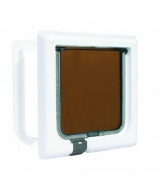Trixie 4-Ways Cat Flap Brown 3 Years Guarantee