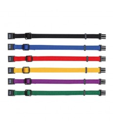 Trixie Set of 6 Puppy Collars-Dark Colours
