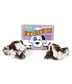 Petbrands Choco Cotton Bone -Medium