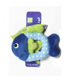 Petbrands Cudly Fish Ring Plush