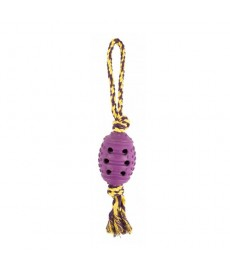Petbrands Rope Loop - Rubber Ball