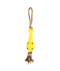 Petbrands Rubber Rocket - Rope