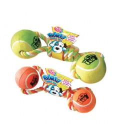Petbrands  Wow Tennis Ball Dumbell - Jumbo