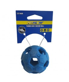 Petsports Turbo Kick Soccer Ball -2.5 inch