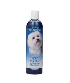 Bio-Groom Super White Coat Brightning Shampoo-335ml