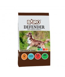 Defender Adult Chicken and Liver 10+2 kg free