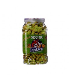 Choostix Biskies with Real Vegetables Dog Treat, 500 g (Jar)