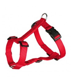 Trixie Classic H-harness-M-L-Red