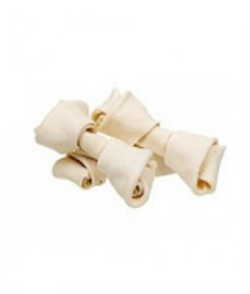 Dog Bone Knotted Plain 200gms  (2-inch bones, small pack)
