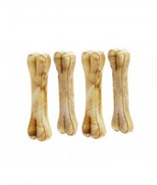 Dog Bones Chicken Flovoured (4-inch x 4 Pieces)