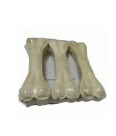 Dog Bones Natural Flovoured (8-inch x 3 Pieces)