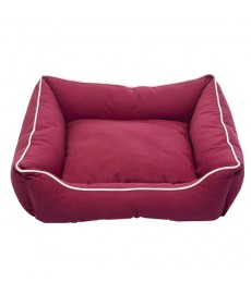 Dog Gone Smart Lounger Bed -Berry - M