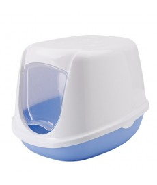 Savic  Duchesse Cat Toilet Home  - Blue