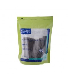 Virbac CET Veggie Dent Extra Chews for 10 kg to 30 kg dogs (375 gm