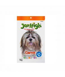 JerHigh Carrot Stix Dog Treats, 70 g