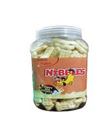 Nibbles Puppy Egg Biscuit - 500 gm