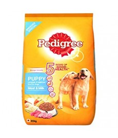 Pedigree Puppy Dog Food Meat and Milk, 20 kg