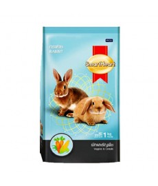 Smart Heart Rabbit Food Veggies - Cereals -1 kg