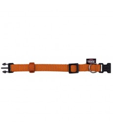 Trixie  Premium  Collar-S-M-Copper orange