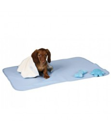 Trixie Puppy Fleece blanket-Light blue