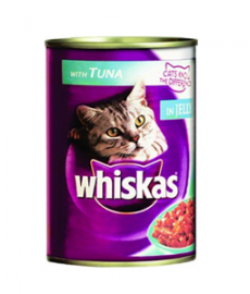 Whiskas Cat Food Tuna in Jelly Canned, 400g