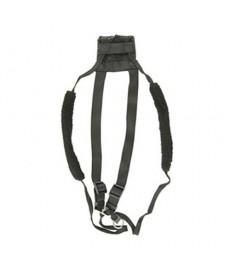 Yup Non-Pull Mesh Harness-Black-Large/XL