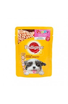 Pedigree Pouch Puppy Chicken, 80 g