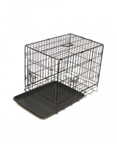 Black Fold Cage ( Length 48 Inches) Large Breed