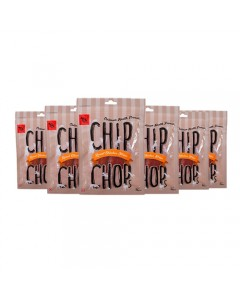 Chip Chops Chicken Strips Dog Snacks 70 g Pack of 6