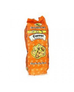 Naughty Pet Carrot Biscuits 300gm