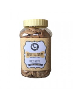 Naughty Pet Liver Biscuits 1kg
