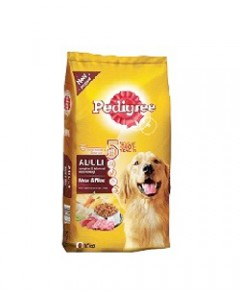 Pedigree Adult Dog Food, Meat with Rice, 10 kg