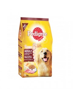 Pedigree Adult with Meat, 3 kg