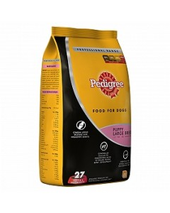 Pedigree Puppy Large Breed Dog Food, 3 Kg
