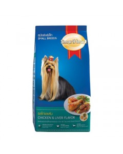 Smart Heart Chicken-Liver Flavor-Small Breeds-500 Gm