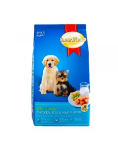 Smart Heart Puppy Chicken Egg - Milk Flavour-1.5 kg