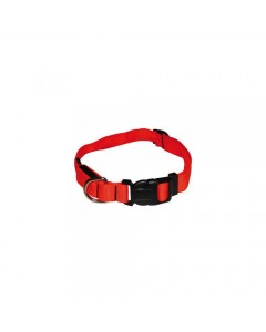 Woofi Dog Collar -Nylon - Padded - Red - Large- XL
