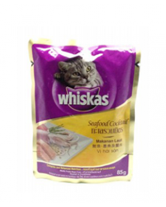 Whiskas Cat Food Pouch, 85 g