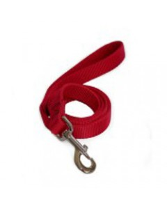 Woofi Dog Cotton Leash - Red - Extra Small