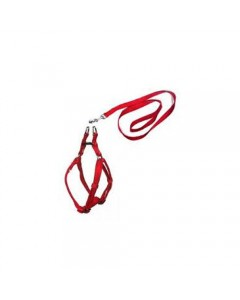 Woofi Dog Harness Set - Medium  - Red